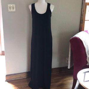 Tommy Bahama black tank maxi dress